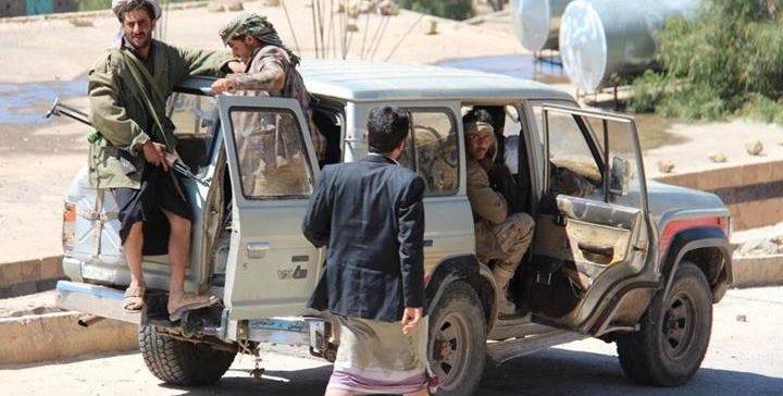 Injuries by Houthi shelling in Taiz