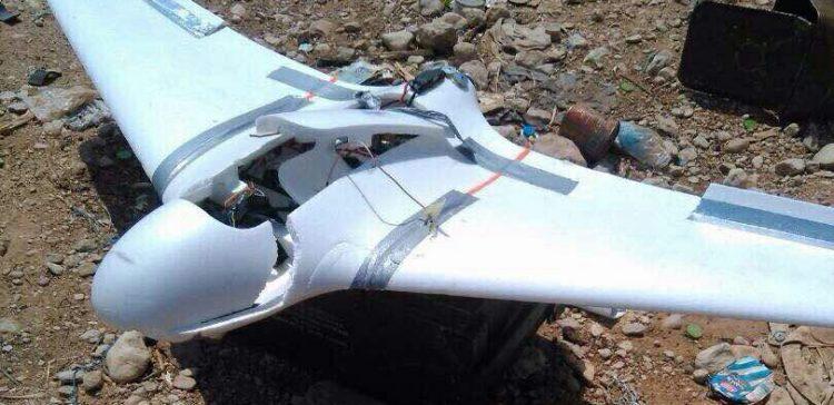 Coalition shot down militia drone, killed tens rebels in Hodeidah
