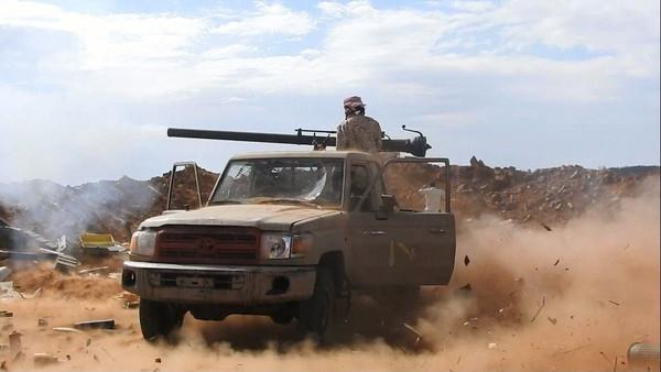 National Army controls fresh areas in Houthi militia's stronghold
