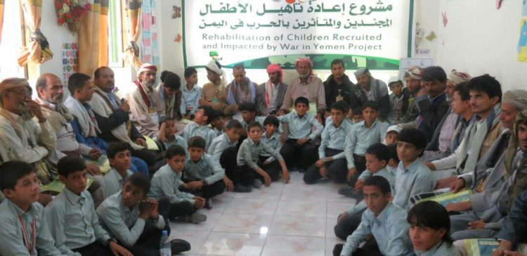 KSrelief educates fathers on danger of child participation in conflict