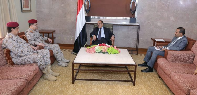 VP, Minister of Defense, Chief of Staff discuss military situations