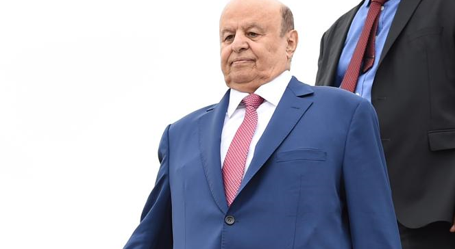 President Hadi arrives in Saudi Arabia