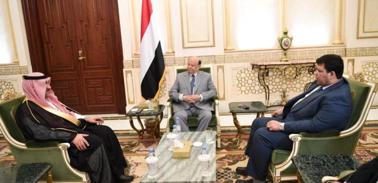 President Hadi praises Saudi Arabia's constructive stances in supporting Yemen
