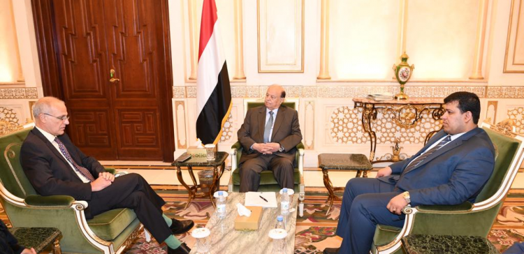 President Hadi receives British Ambassador to our country
