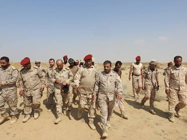 Army's Moral Guidance on the frontlines of Hajjah