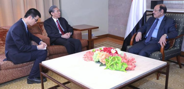 Yemen, China discuss developments, peace efforts