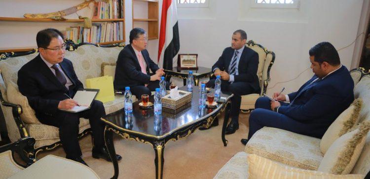 Dep.FM praises South Korean support for Yemen