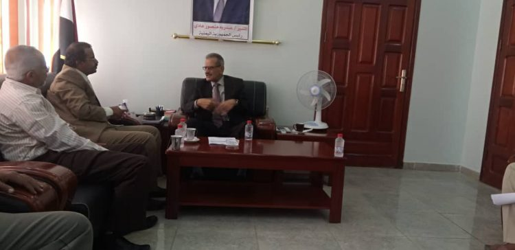 Education Minister discusses educational process in Baidha'