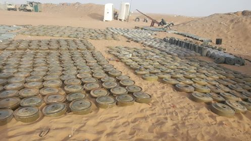 MASAM removes 578 Houthi-laid landmines in the 1st week of Feb.