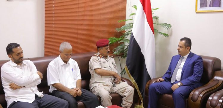 PM, inspects the situation of Al-Dhale province