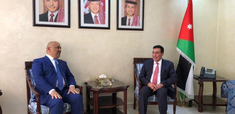 Al-Yemany, Jordanian Speaker discuss situations in Yemen
