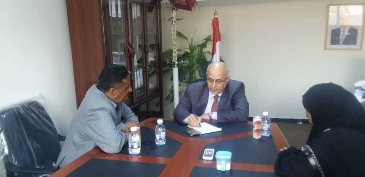 Gov't keen 'to implement relief aid, development projects in Taiz'