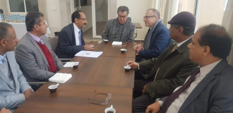 Al-Asbahi discusses UNHCR's support for Yemeni community in Morocco
