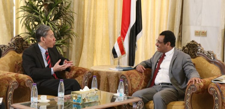 Ba-Abood, Chinese Ambassador discuss relief, development projects