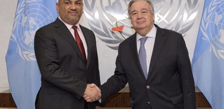 FM commends UN Secretary-General's efforts to implement Stockholm Agreement