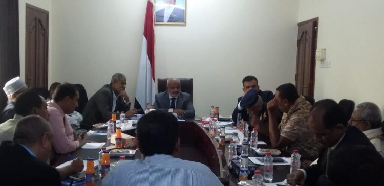 Hodeida Government Committee discusses normalizing conditions