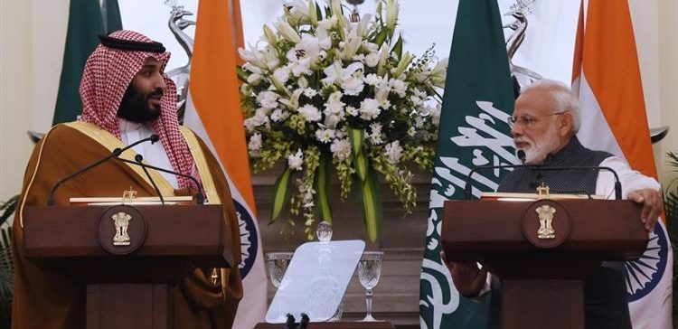 Crown Prince Hopes Saudi Investment in India Will Exceed $100 Bln