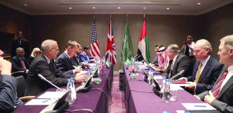 KSA, UAE, UK, USA reiterate their support for Sweden agreement