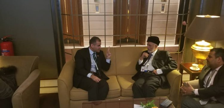 Al-Hadrami meets Omani Minister of Foreign Affairs in Munich