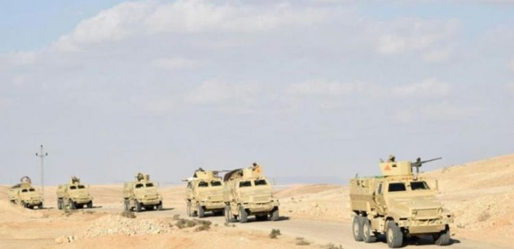 8 Terrorists Killed in Western Egypt