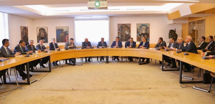 PM meets with Arab Ambassadors to the UN in Geneva