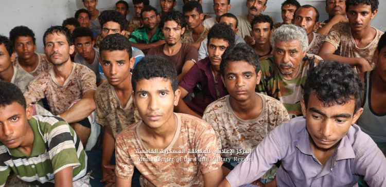 ( Video ) Houthi prisoners say were forcibly taken to fronts