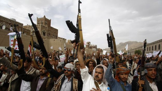 Houthi militia executes one of its leader in al-Mahweet