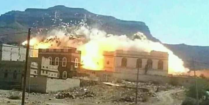 Houthi militias fired ballistic missiles on villages, commit genocides in Hajoor
