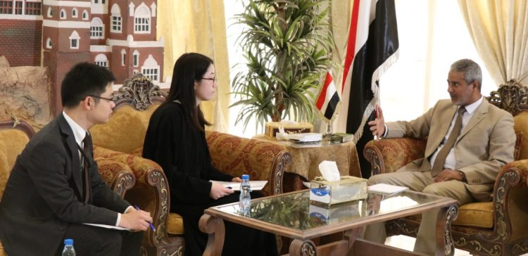 Deputy Health Minister discusses Japan's support to Yemen