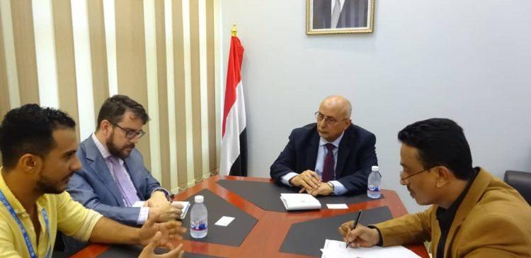 Minister Fatah calls on OCHA to immediately act to save Hajoor's population