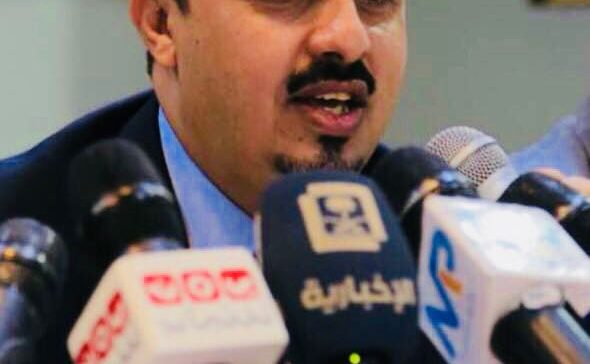 Info. Minister says there is no solution to Yemen crisis without completing 'restoration of state'
