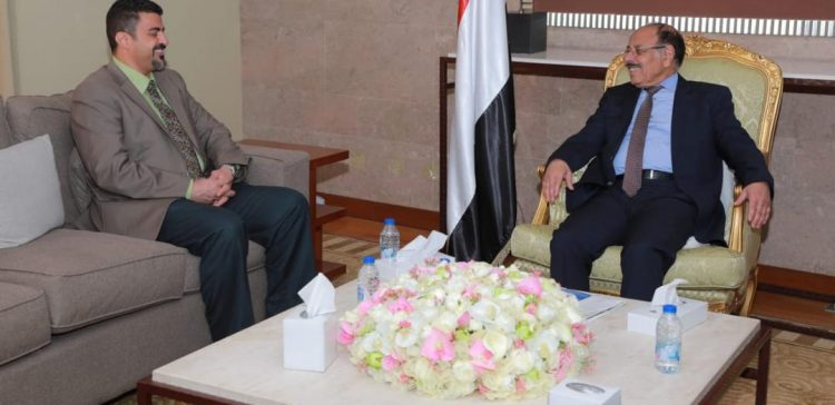 VP hears from Aden local authority on developments