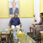 Minister of Interior, Socotra's Governor discuss security situations