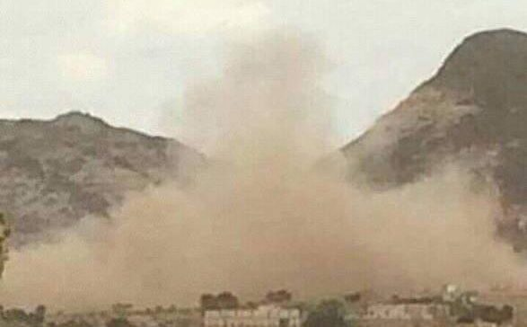 Houthi militia bombs citizens' House in Al-Dhale