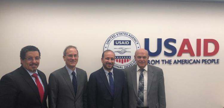 Planning Minister discusses US development interventions in Yemen