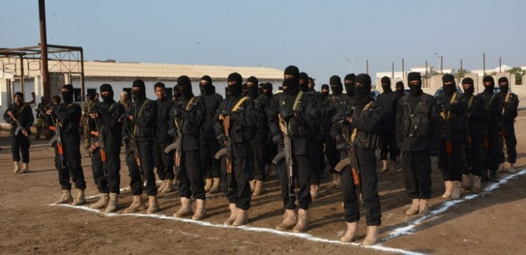 First batch of Special Security graduated in Al-Jawf