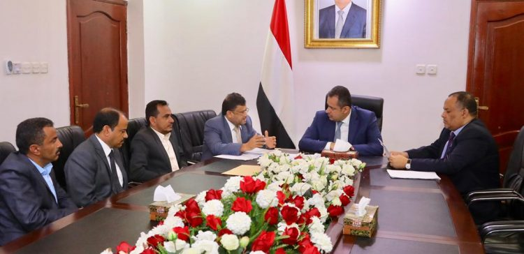 PM: We work on alleviating people's suffering in Houthi held areas