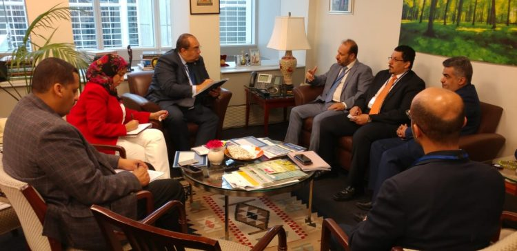 Government's reconstruction plans discussed in Washington