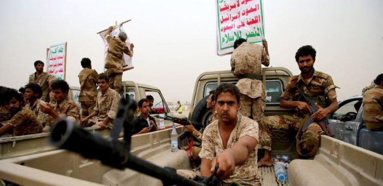 Houthis shell population of Hais, south Hodeidah