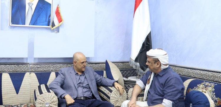 Dep. Premier, Taiz's governor discuss security situations