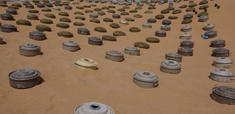 Rainfall floods unearth large minefields in Sa'ada