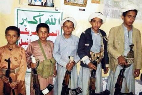 Houthis force Sa'ada tribes to recruit children, send them to the fronts