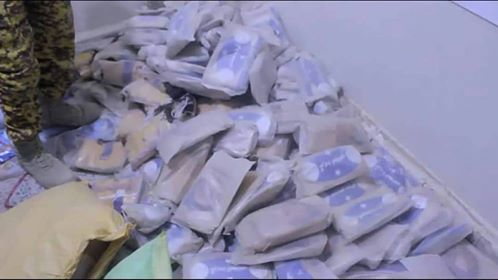 Al-Jawf security seizes 155 Kg of hashish in way to Houthi-held areas
