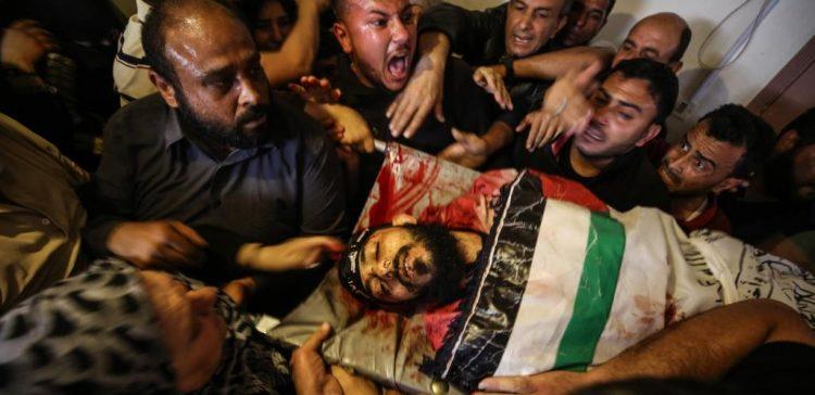 Six Palestinians killed in Israeli air strikes in Gaza