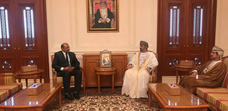 Yemen's ambassador to Muscat meets with Chairman of Omani Shura Council