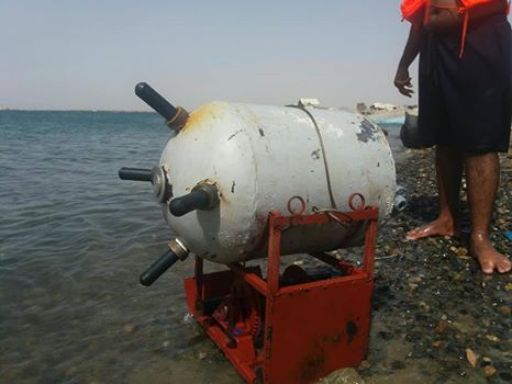 Houthi militia conducts live tests of dangerous sea mines in Hodeidah