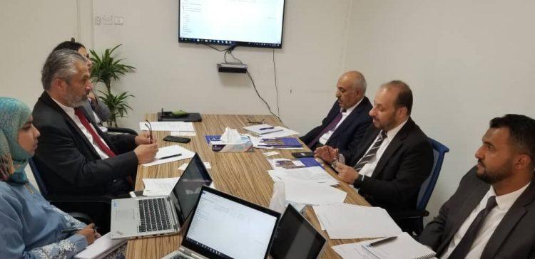 Al-Aweg, UNDP discuss reconstruction, economic recovery plan