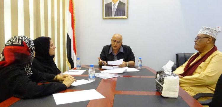Fatah, UNHCR discuss provision of services to IDP