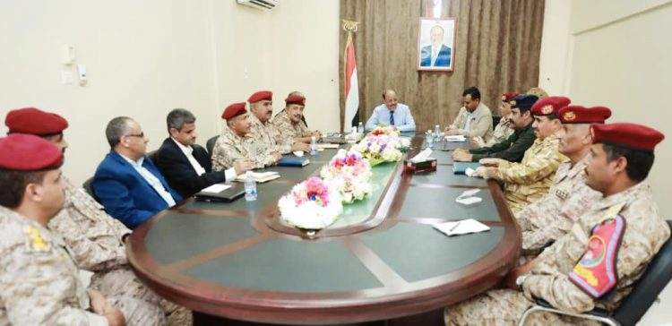 VP meets Security Committee of Wadi and Desert Hadhramout