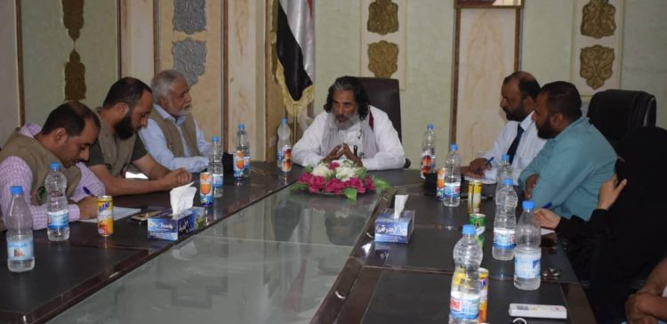 Kuwaiti delegation visits Al-Jawf to assess humanitarian needs
